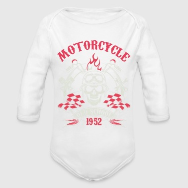 Motocycle Tshirs - Organic Long Sleeve Baby Bodysuit