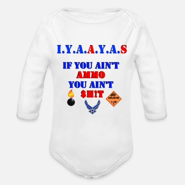 AMMO2 Merch - Organic Long-Sleeved Baby Bodysuit