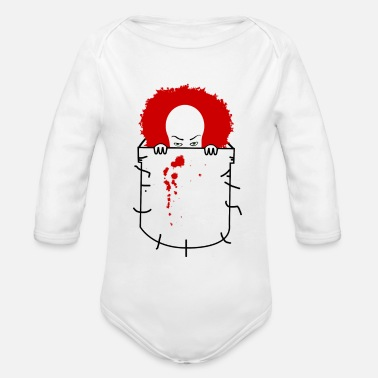 Penny pennywise - Organic Long Sleeve Baby Bodysuit