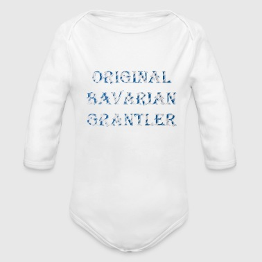 Original Bavarian Grantler - Organic Long Sleeve Baby Bodysuit