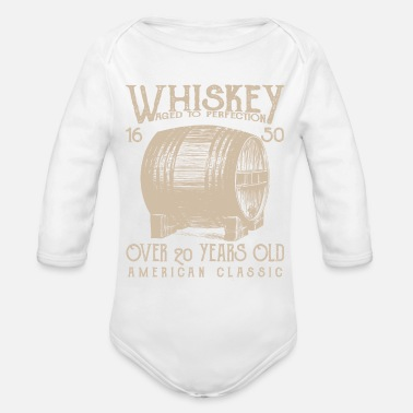 Whiskey Whiskey - Organic Long-Sleeved Baby Bodysuit