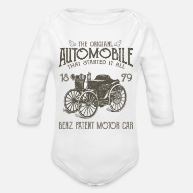 Automobile THE ORIGINAL AUTOMOBILE - Organic Long-Sleeved Baby Bodysuit