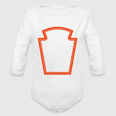 I Put Ketchup On My Ketchup - Organic Long Sleeve Baby Bodysuit