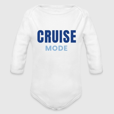Cruise Mode Cruising Design Family Cruises - Organic Long Sleeve Baby Bodysuit