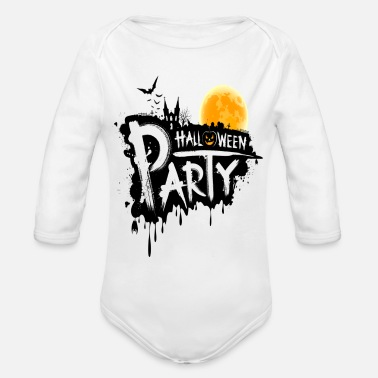 Happy Birthday Birthday, birthday, happy - Organic Long Sleeve Baby Bodysuit