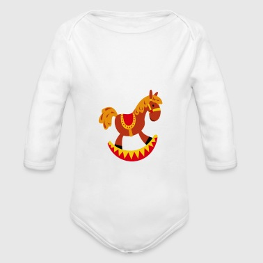 Happy Childhood - Organic Long Sleeve Baby Bodysuit