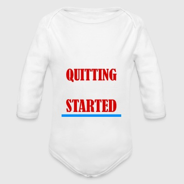 MOTIVATION MOTIVATION MOTIVATION - Organic Long Sleeve Baby Bodysuit