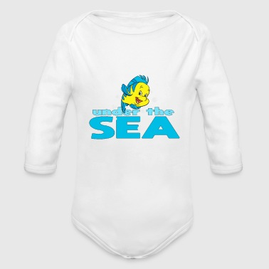 Sea - Organic Long Sleeve Baby Bodysuit