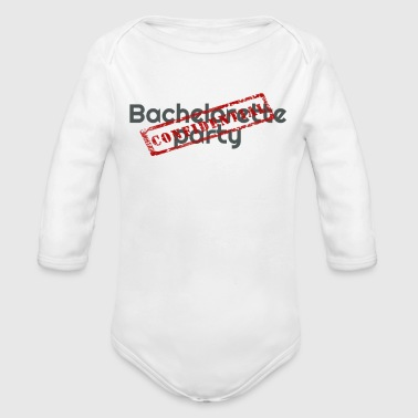 Bachelorette Party - Organic Long Sleeve Baby Bodysuit