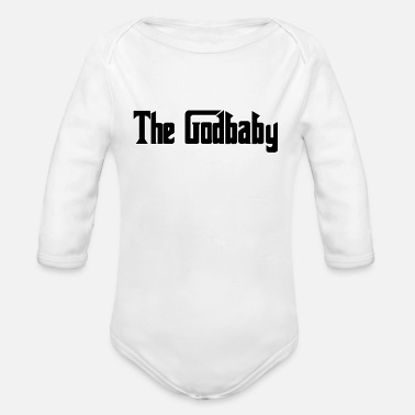 the godbaby - Organic Long-Sleeved Baby Bodysuit