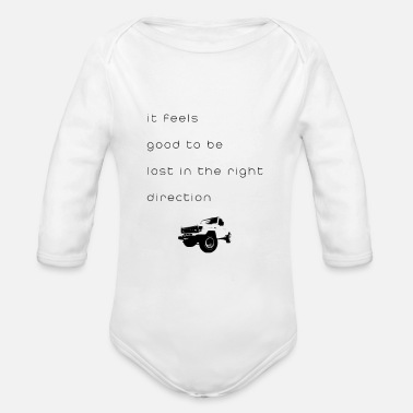 Feeling it feels - Organic Long-Sleeved Baby Bodysuit