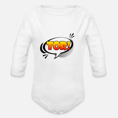 Gate Gate! - Organic Long-Sleeved Baby Bodysuit