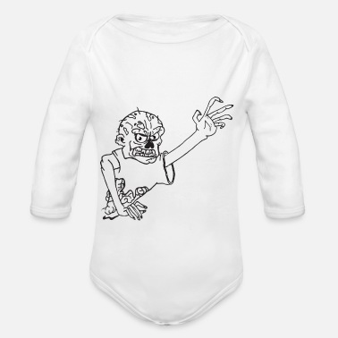 Undead undead - Organic Long-Sleeved Baby Bodysuit