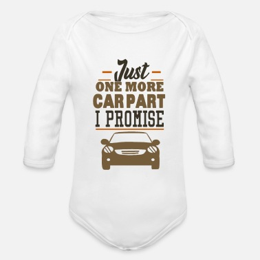 Race Car Driver cars mechanic off-road race racing car driver - Organic Long-Sleeved Baby Bodysuit