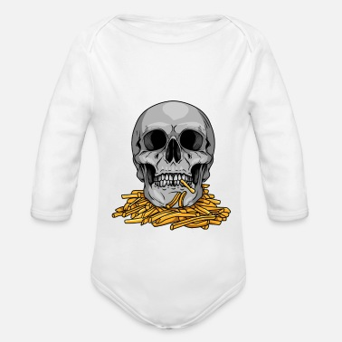 Mc Mc Fries - Organic Long-Sleeved Baby Bodysuit