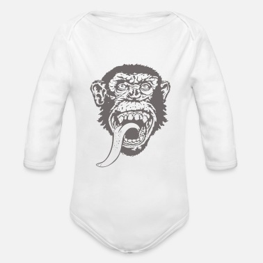 Gas Gas Monkey Garage - Organic Long-Sleeved Baby Bodysuit