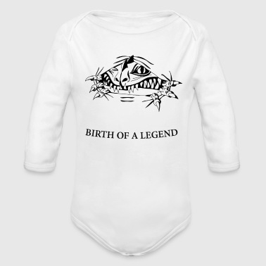 BIRTH - Organic Long Sleeve Baby Bodysuit