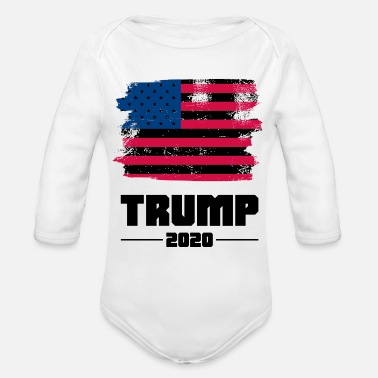 Election Year 2020 america election year - Organic Long-Sleeved Baby Bodysuit