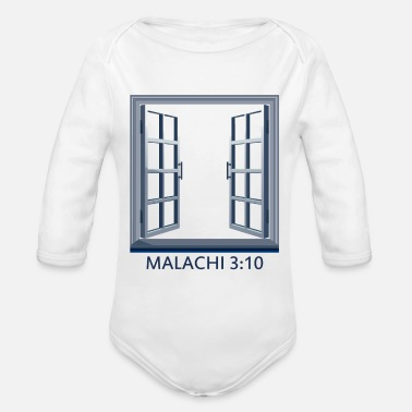 Windows Windows - Organic Long-Sleeved Baby Bodysuit