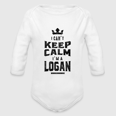 LOGAN - Organic Long Sleeve Baby Bodysuit