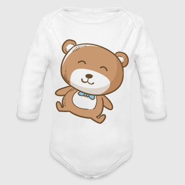 pregnant baby child born birth gift idea - Organic Long Sleeve Baby Bodysuit