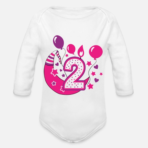 Second Birthday Girl 2nd Happy Gift Niece By Melia513