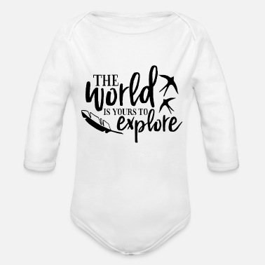 Journey Journey - Organic Long-Sleeved Baby Bodysuit
