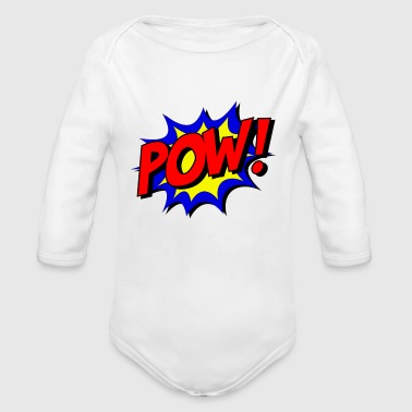 Comic Comic - Organic Long Sleeve Baby Bodysuit
