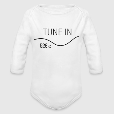 Tune in - Organic Long Sleeve Baby Bodysuit