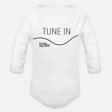 Tuning Tune in - Organic Long Sleeve Baby Bodysuit