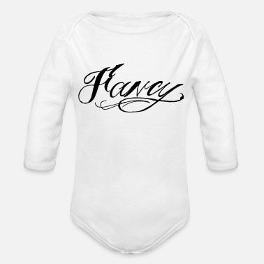 Fancy fancy - Organic Long-Sleeved Baby Bodysuit