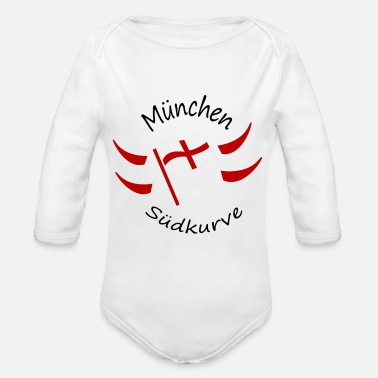 Munich Munich - Organic Long-Sleeved Baby Bodysuit