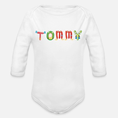 Tommy Tommy - Organic Long-Sleeved Baby Bodysuit