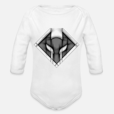 Image image - Organic Long-Sleeved Baby Bodysuit