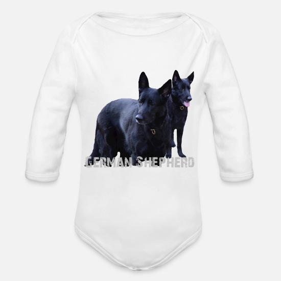 Dog Breed Baby Clothing - Dog, dog head, dog face, dog breed, dog sport, dog - Organic Long-Sleeved Baby Bodysuit white