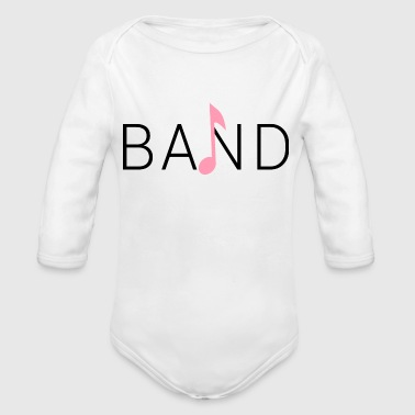 BAND - Organic Long Sleeve Baby Bodysuit