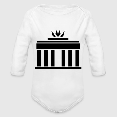 Brandenburg Gate - Organic Long Sleeve Baby Bodysuit