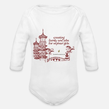 Nonprofit Josiah's Covenant - creating family - Organic Long-Sleeved Baby Bodysuit