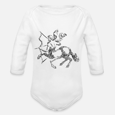 archery arrow bow crossbow target sports44 - Organic Long-Sleeved Baby Bodysuit