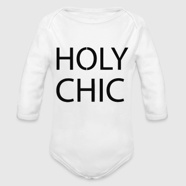 Holy Chic - Organic Long Sleeve Baby Bodysuit