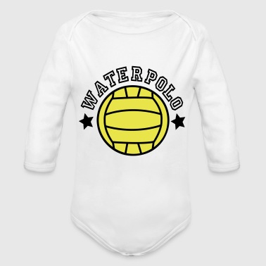 2541614 15530909 waterpolo - Organic Long Sleeve Baby Bodysuit