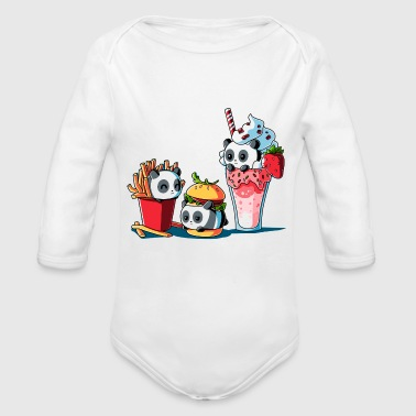 Meal Combo Meal - Organic Long Sleeve Baby Bodysuit