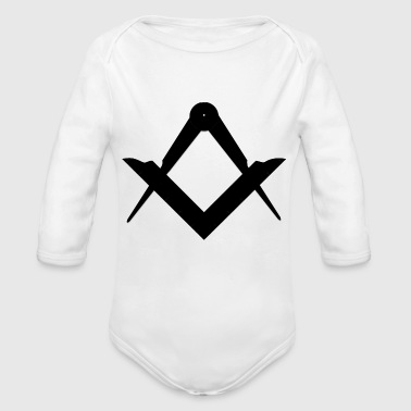Freemasons freemason - Organic Long Sleeve Baby Bodysuit