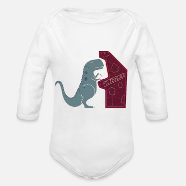 Irony Irony - Organic Long-Sleeved Baby Bodysuit