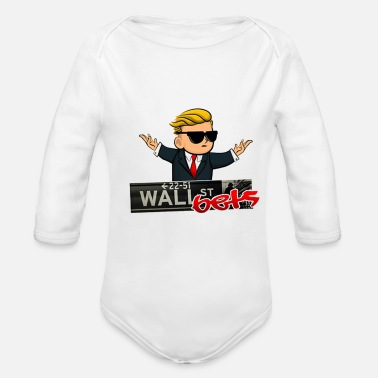 Wall walls - Organic Long Sleeve Baby Bodysuit
