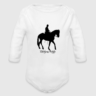 The Horseman - Organic Long Sleeve Baby Bodysuit