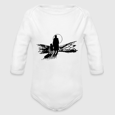Destiny - Organic Long Sleeve Baby Bodysuit
