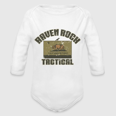 Raven Rock Tactical California - Organic Long Sleeve Baby Bodysuit