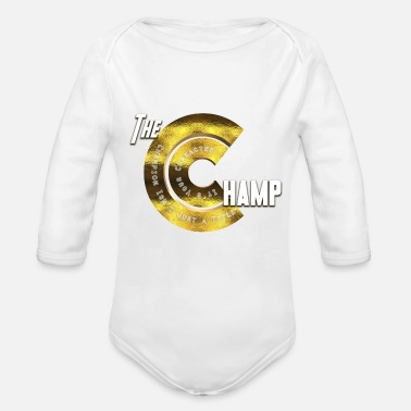 Champ The Champ - Organic Long Sleeve Baby Bodysuit