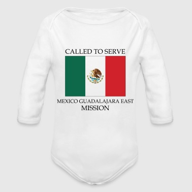 Mexico Guadalajara East LDS Mission Called to - Organic Long Sleeve Baby Bodysuit